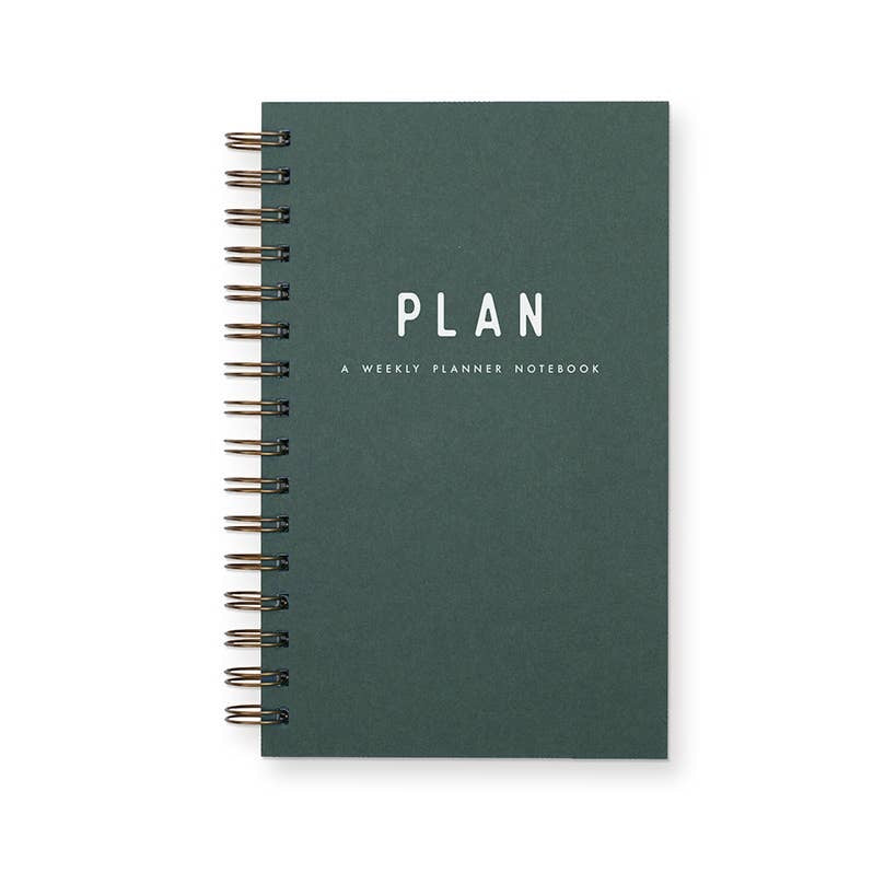 Simple Plan Weekly Planner Journal