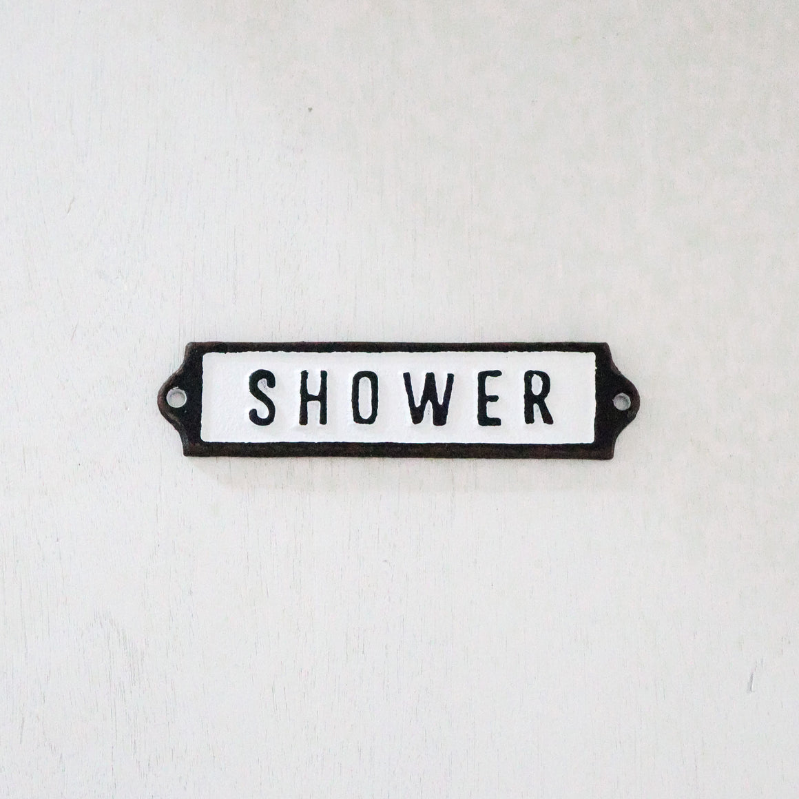 Mini Shower Sign