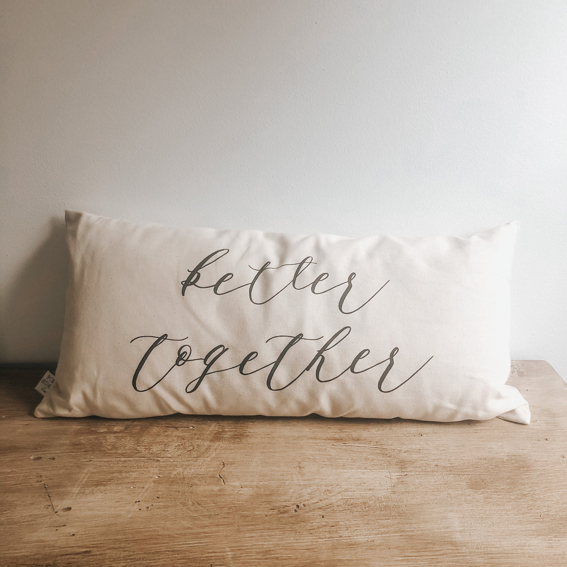 Almost Perfect Better Together Lumbar Pillow