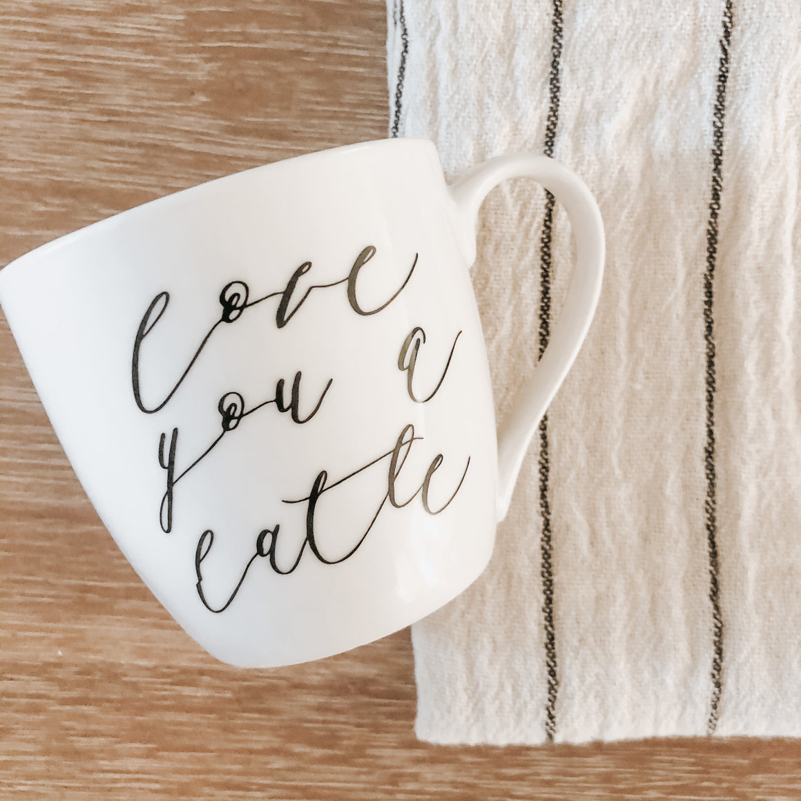 Almost Perfect - Love You A Latte Mug