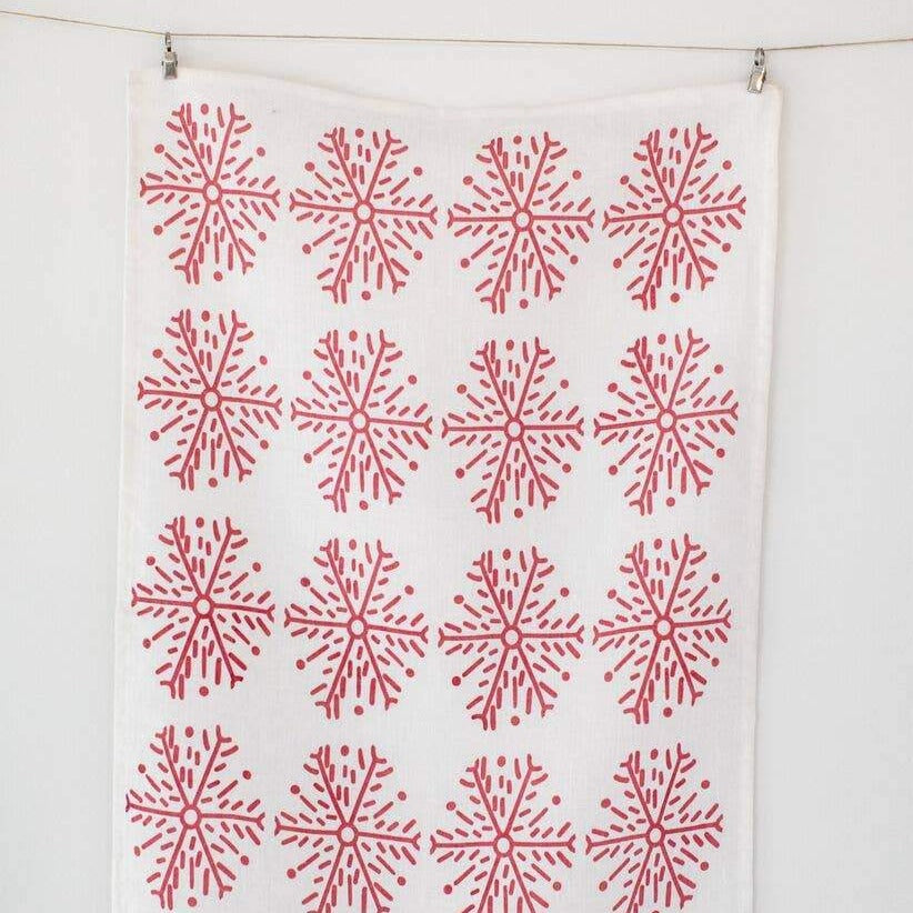 Snowflake Tea Towel