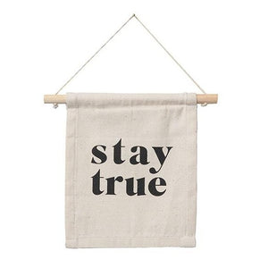 Stay True - Mini Banner