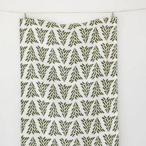 Tree Farm Tea Towel