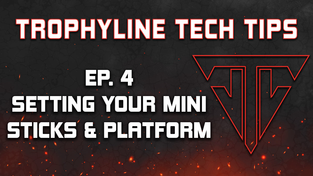 Setting Your Mini Sticks & Platform | Trophyline Tech Tips | Ep. 4