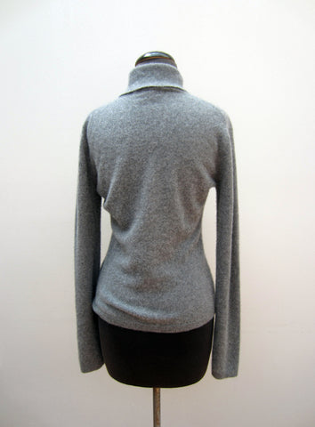 Facconable Cashmere Grey Sweater, S
