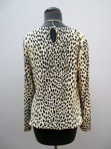 J. Crew Animal Print Blouse, 12