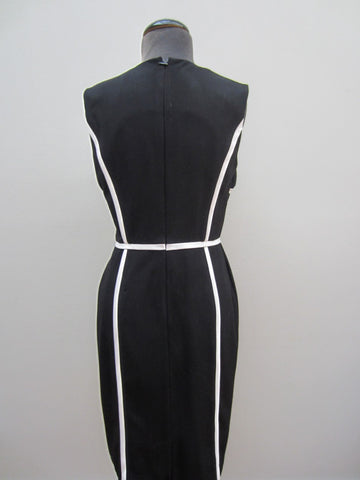 Calvin Klein Black & White Dress, 6