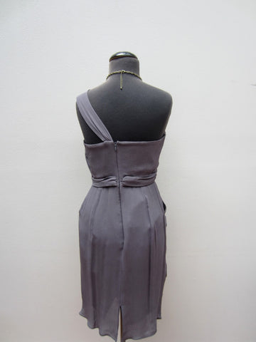 Charles Chang Lim Grey Cocktail Dress, 6