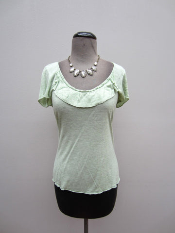 Banana Republic Sage Green Tee, XS