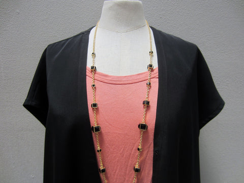 Pixley Torrence Cube Layering Necklace