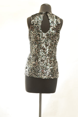 French Connection Sequin Swirl Tank, 6