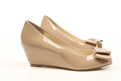 footcandy Peep-Toe Wedge