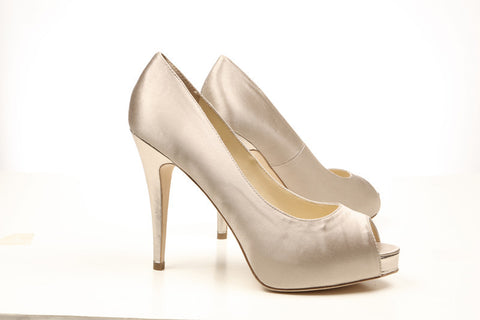 Footcandy Satin Peeptoe