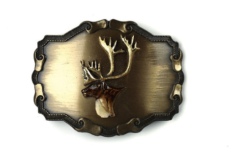 Buck Belt Buckle
