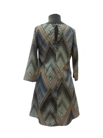 Caramela Snakeskin Reimagined Dress, S
