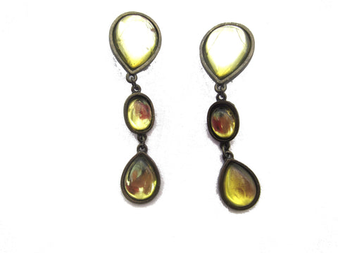 Cascade Teardrop Earrings