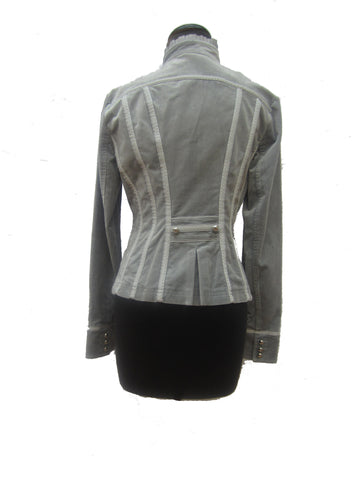 White House Black Market Velvet Jacket, 8