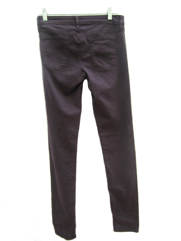 Just Black Skinny Jeans in Plum, 27