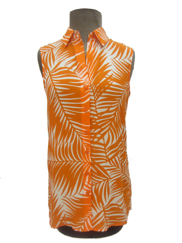 Dora Landa Tropical Mango Shirt, S