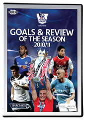 Premier League 2011 Goals and Review of the Season 2 Disc DVD