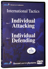 Individual Soccer Tactics: Attacking & Defending 2 Part Video