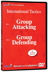 Group Soccer Tactics: Attacking & Defending 2 Part Video