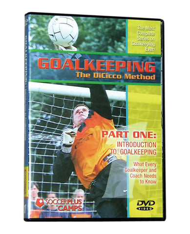 Goalkeeping- The DiCicco Method Part 1