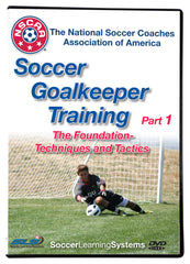 NSCAA Soccer Goalkeeper Training part 1