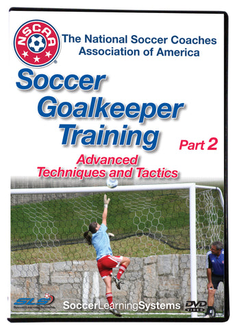 NSCAA Soccer Goalkeeper Training part 2