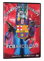 FC Barcelona 2006 UEFA Champions League 2 Disc DVD