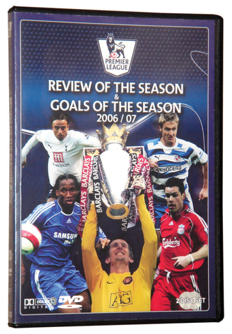 Premier League 2007 Goals and Review of the Season 2 Disc DVD