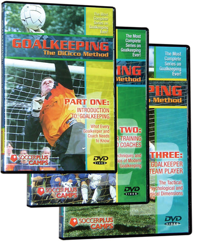 Goalkeeping- The DiCicco Method Set of three