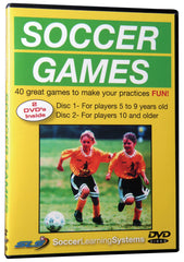 Soccer Games for Youth Players Part One: 5-9 Part Two: 10-15