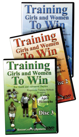 Training Girls and Women To Win 3 Part Set