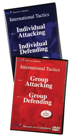 Individual & Group Soccer Tactics Set