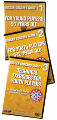 NSCAA Soccer Coaches Guide set of three