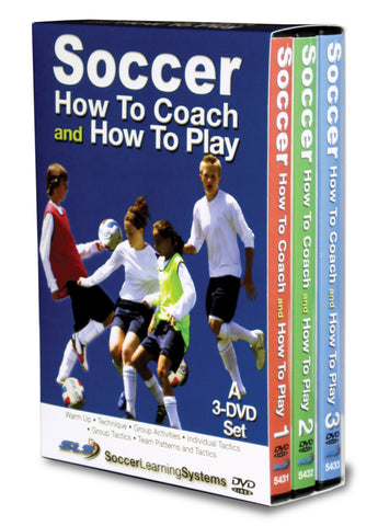 Soccer- How To Coach and How To Play 3 Part Set