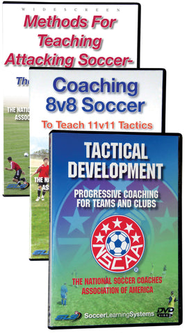 NSCAA Tactical Set of Three