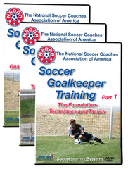 NSCAA Soccer Goalkeeping goalie Training Set