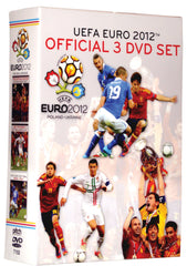 Euro 2012 Set of Three DVDs