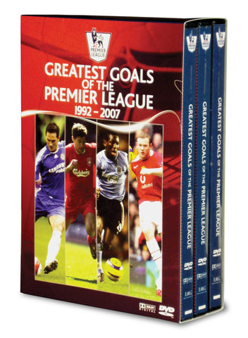 Premier League Greatest Goals- 3 DVD Box Set