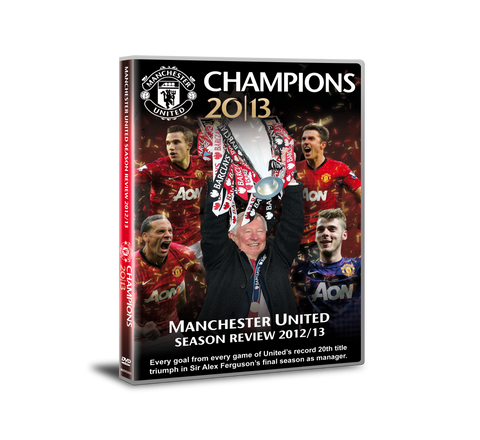 Manchester United Champions 2013 DVD
