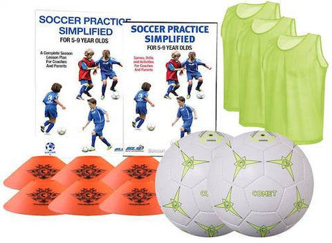 Soccer Practice Simplified Coaches Kit