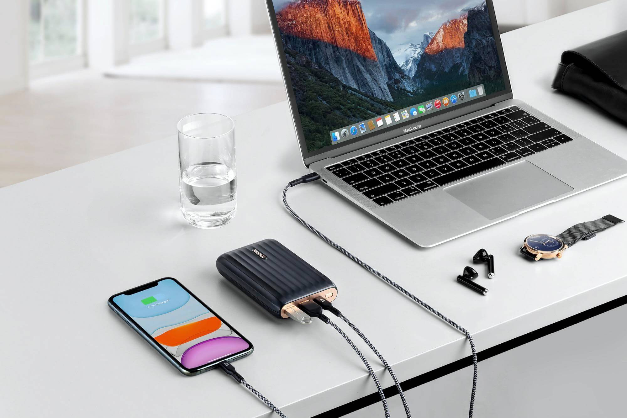 Zendure All-new X5 Compact USB-C Hub Power Bank 2in1 Solutions for 2020