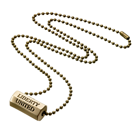 Bullet Rifle Segment Necklace
