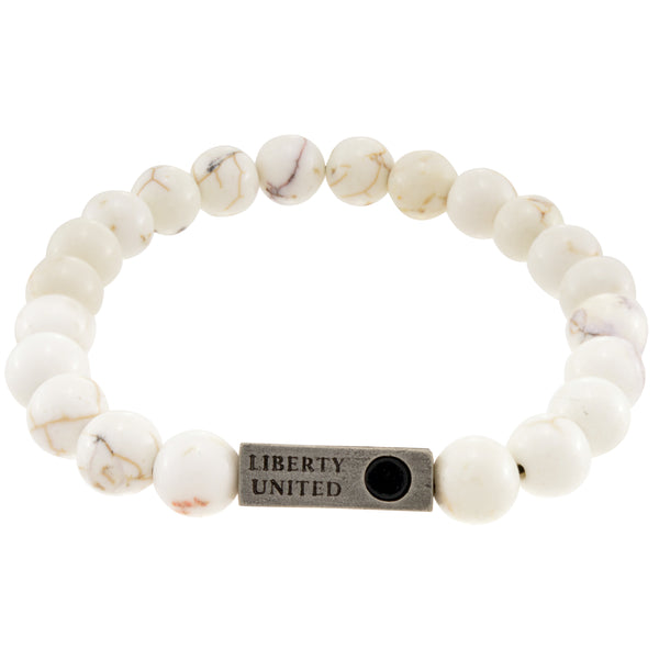 be the change.  magnesite bracelet