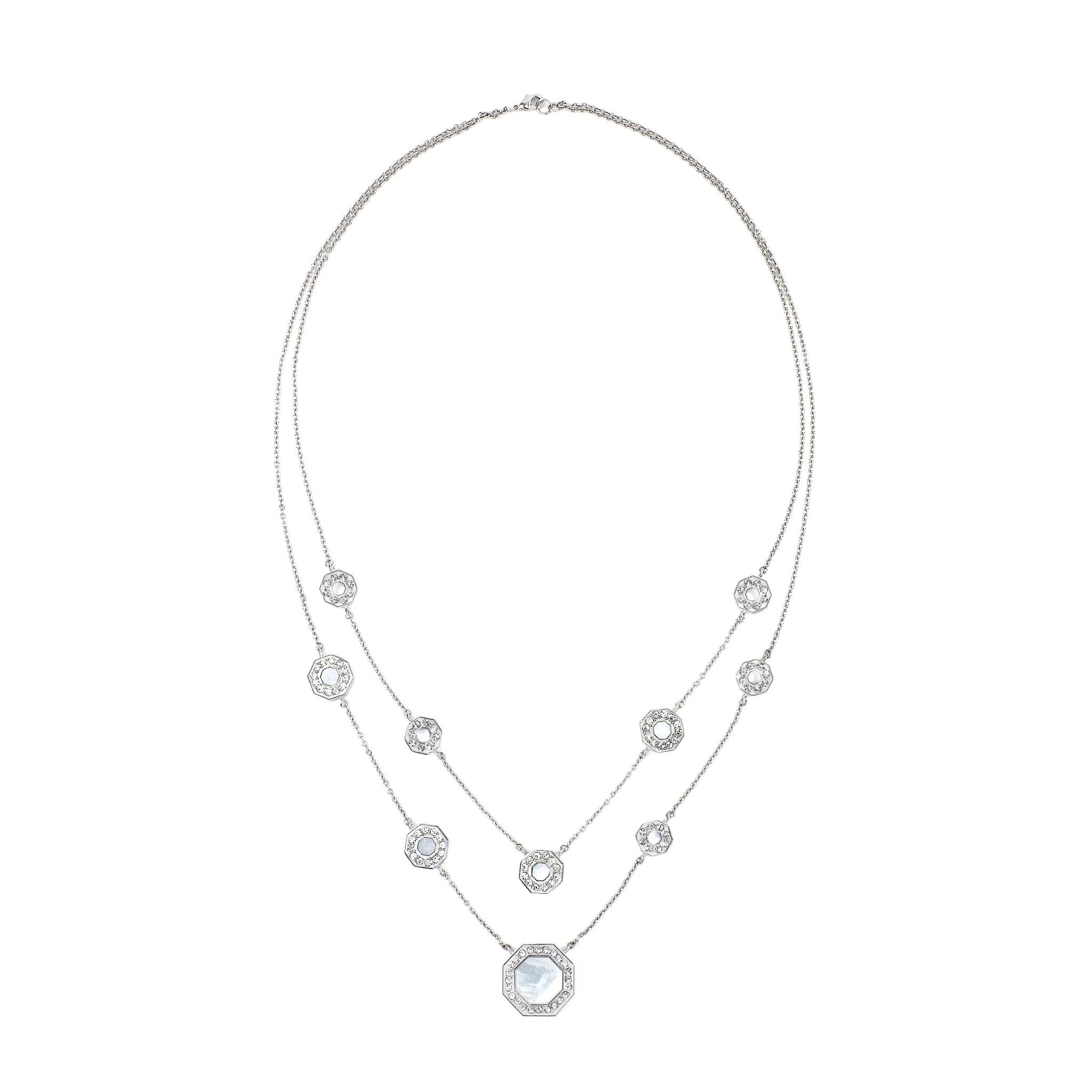 Winchester Orbital Necklace -- Crystal