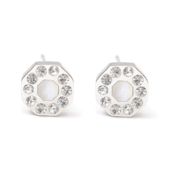 Winchester Earrings -- White Sapphire