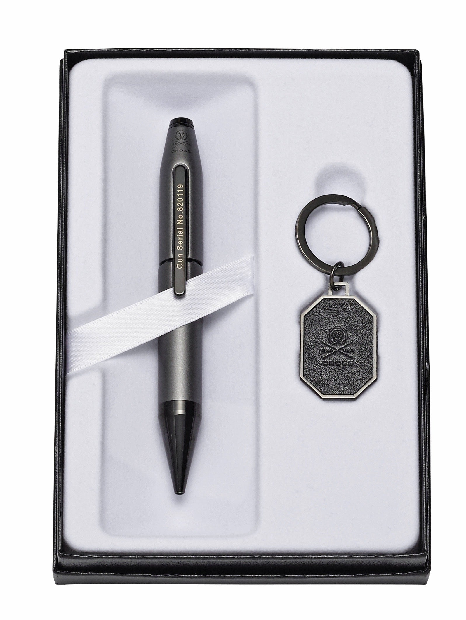 Cross X Liberty United Gift Set -- Rollerball Pen and Leather Key Chain