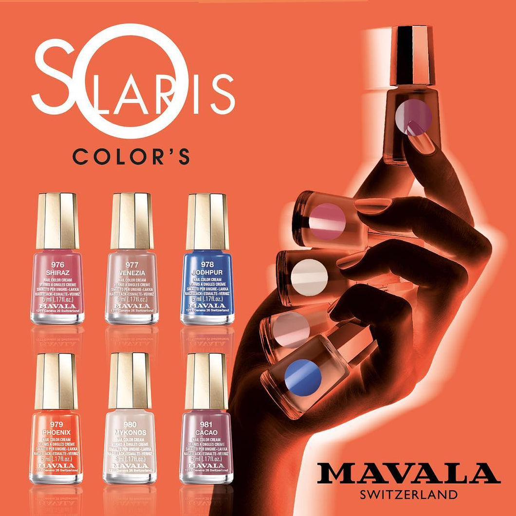 SOLARIS COLLECTION MINI COLOURS